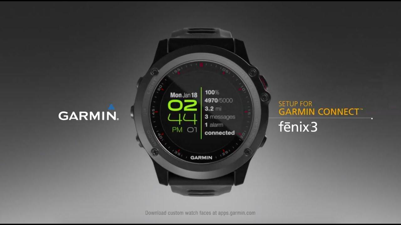 Garmin Fenix 3 Gps Running Watch Youtube