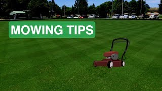 How To Mow Your Lawn | Mowing Tips