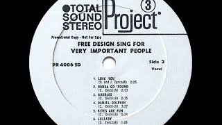 The Free Design - Love You