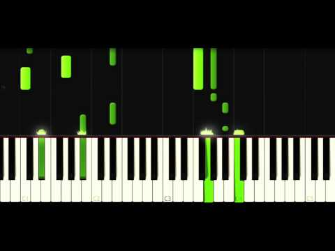 Waves (Mr. Probz) Piano-Tutorial (Easy) Free Sheet Music And Midi-Files