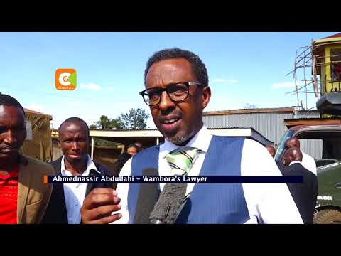 CJ Maraga in war of words with Lawyer AhmedNassir