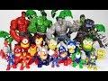 Hulk vs Marvel Hero~! Go Avengers, Iron man, Captain america, Thor, Spider man. Episode 1