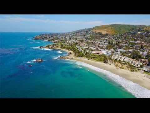 Laguna Beach Orange County California 4K Part 1