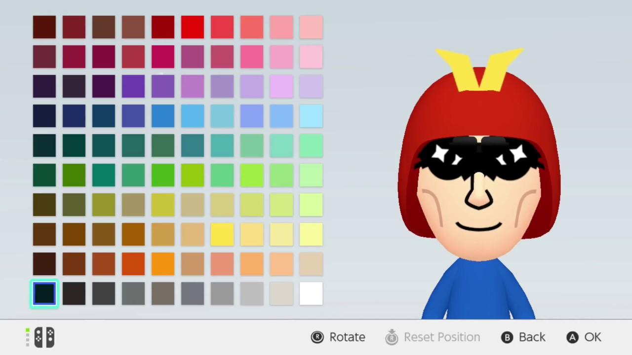 Mii Maker How To Make Captain Falcon F Zero Nintendo