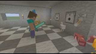 a day in the life of mcdonalds minecraft skit