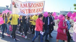 Marsz Różowej Wstążeczki w Ostrołęce
