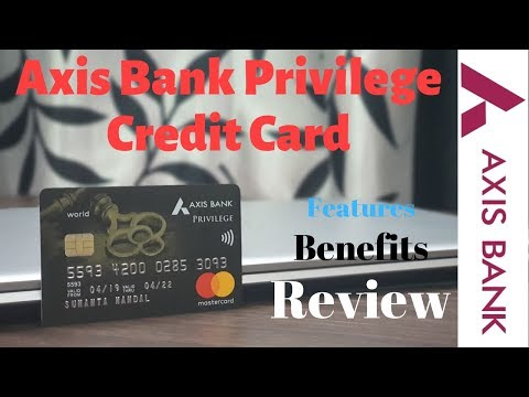 Axis Bank Privilege Credit Card Unboxing | Benefits Features & Review | Really Worth ₹1500 Fees? 🔥