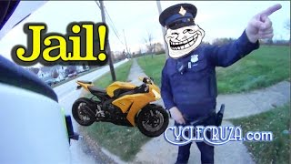 CycleCruza Jail Story Scared Straight - Be Nice To Cops or Suffer