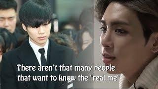 Taemin's Heartbreaking Message To Jonghyun's Future, Jonghyun was afraid to be himself,