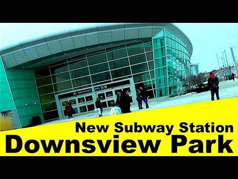 New Subway Station 🇨🇦 Downsview Park