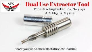 Target Extractor Tool for Removing Broken Dart Stems Shafts from Dart Barrels