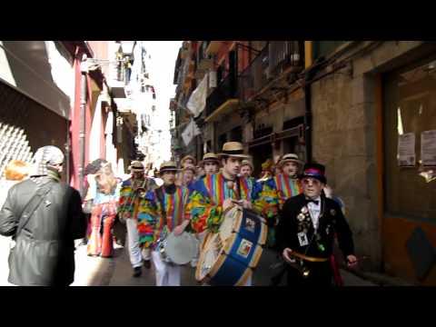 carnaval, beco em Tolosa - Spain