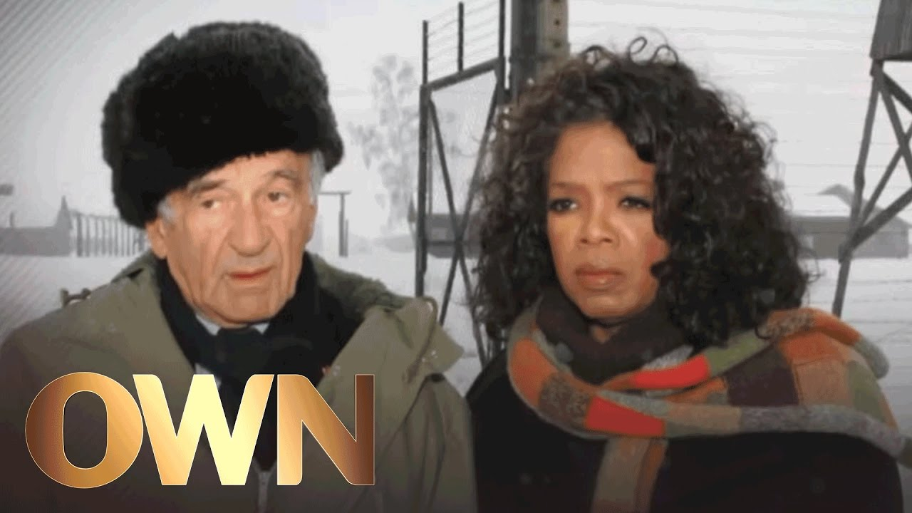 10 Oprah Interviews Elie Wiesel At Auschwitz Tv Guide S Top 25