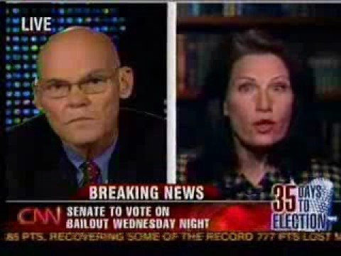 Michele Bachmann and James Carville Go Head-to-Head
