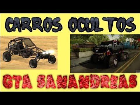 Jugando Gta San Andreas Encontrando Los Carros Ocultos