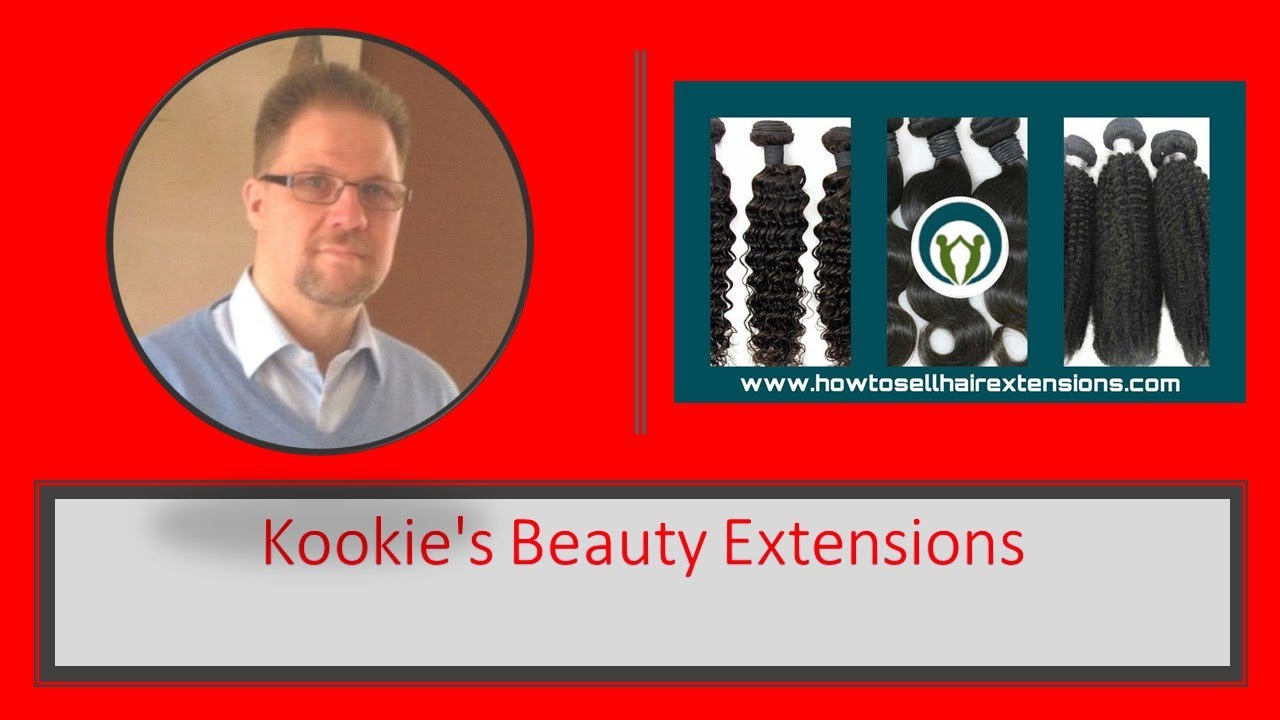 How To Sell Hair Extensions Kookies Beauty Extensions Youtube