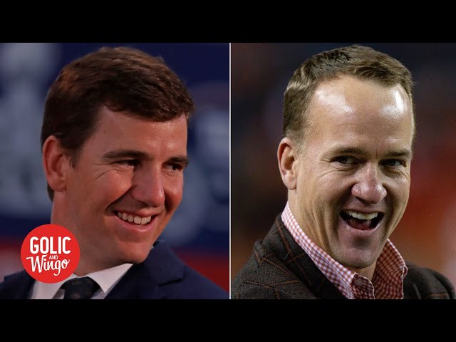 Eli gave me an atomic wedgie! - Peyton Manning tells stories about his brother | Golic & Wingo