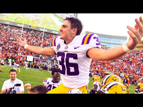 12 LSU vs. 7 Auburn  2018 CFB Highlights