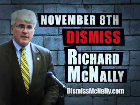 "Joel Abelove for DA - ""Dismiss McNally"""