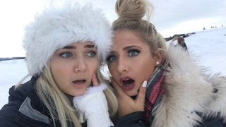 SLEEPING OVERNIGHT IN AN ICE BED!! -8 DEGREES!!!