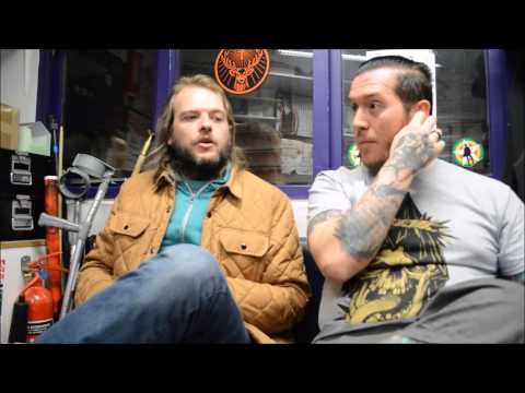The Sword Interview 2015 - Glasgow - Rock n Reel Reviews