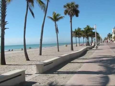 Hollywood Beach Boardwalk Florida 2017