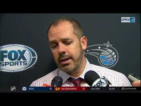 Frank Vogel -- Orlando Magic at Washington Wizards 01/12/2018