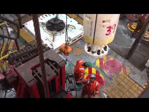 Pulling Marine Riser