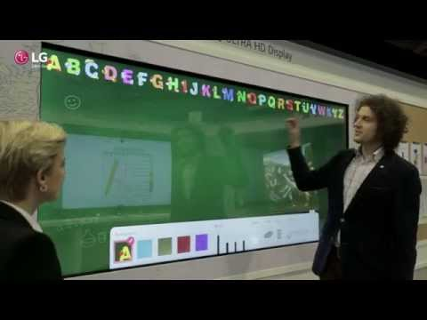 "LG 84"" Touch Display for Education (ISE 2015)"