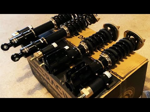 Awesome *RACE SPEC* Coilover Unboxing + Overview BC ER
