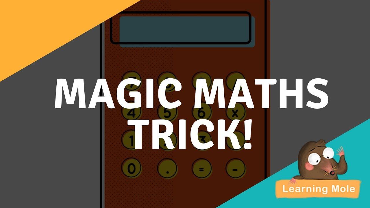 Magic Math for Kids- Mind Tricks - Math Puzzles - Magic Math Trick ...