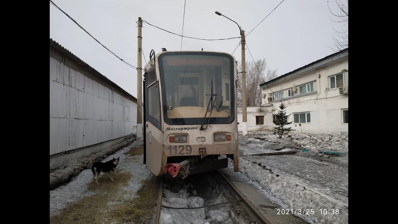 """Информация о """"новых"""" трамваях в Ачинске."""