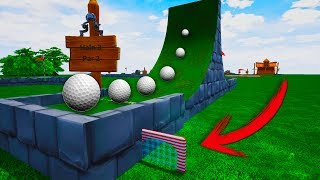 HOYOS SECRETOS ESCONDIDOS! - GOLF IT