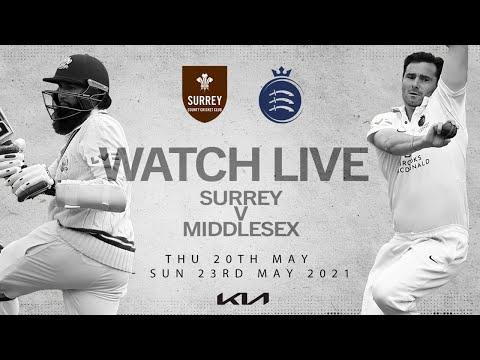Live LV County Championship - Surrey v Middlesex Day 3