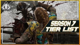 FOR HONOR 2018 SEASON 7 TIER LIST!! EVERY HERO COVERED