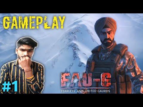 FAU-G Anthem Game | FAU-G Gameplay #1 |
