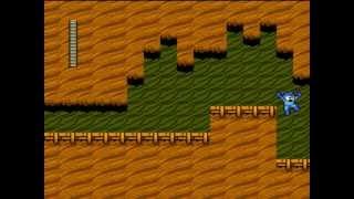 ファミコン ロックマン2(4/13) ウッドマンステージをクリア 弱点はア...