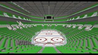Emerald Bank Centre Minecraft Hockey Rink {DOWNLOAD}
