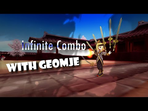 LostSaga Infinite combo with Geomje (Low Budget)