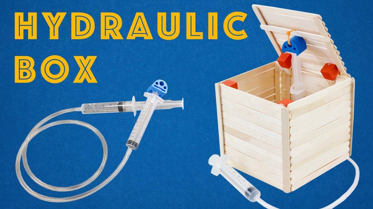 Hydraulic-Powered Box - Fun DIY STEM Project Idea for Kids