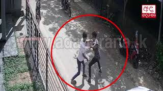 cctv-youth-stabed-to-death-near-tution-class-in-matara