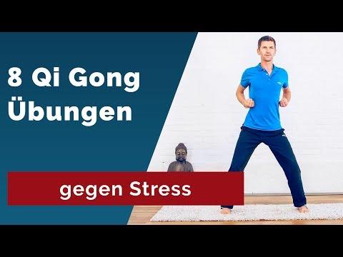 8 Qi Gong Übungen gegen Stress