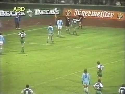 WERDER BREMEN VS MALMÖ FF 1:1 - EUROPACUP 1983 - ZSFG.