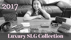 My Luxury Small Leather Goods (SLG) Collection 2017 | Hermes, LV, Chanel, Gucci | Lala Shaw
