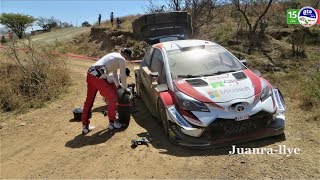 Wrc Rally Mexico 2018 - Shakedown - Lappi Crash