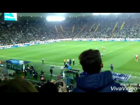 L'addio di Antonio di Natale/ Udinese-Carpi 1-2 /Dacia Arena