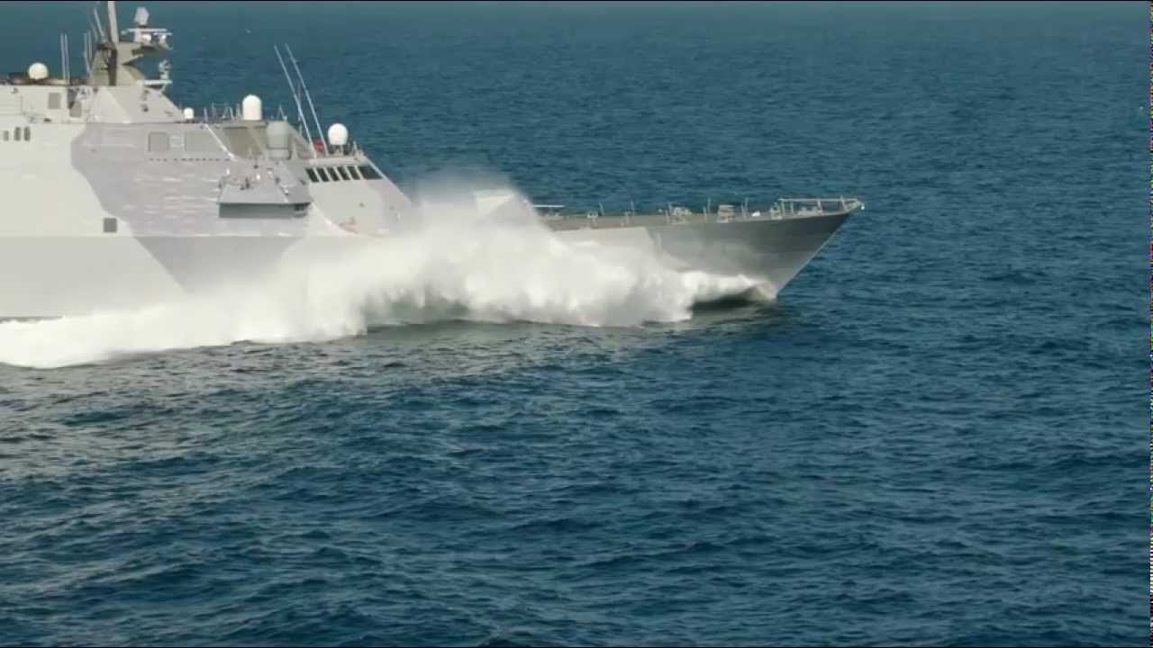 USS Freedom Sports New Paint; Gears Up for Deployment