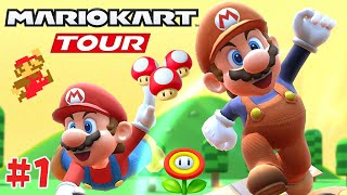BRAND NEW Mario Bros. Tour!! Mario Kart Tour - Part 1