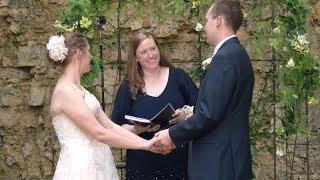Professor Officiates Alumni Wedding