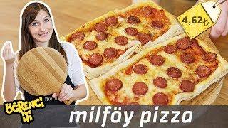 Kolay Pizza nasıl yapılır?   Merlin Mutfakta Yemek Tarifleri